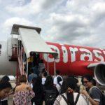 タイ子連れ旅行でLCC(スクート、エアアジア)に乗る